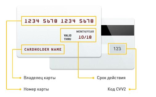 Рекомендации по оплате картами